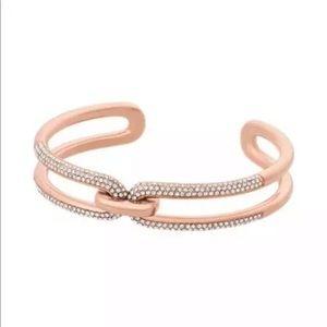 Brand new Michael Kors Crystal paved bracelet
